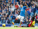Abdul Osman tackles Jason Holt
