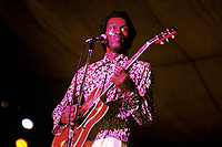 Chuck Berry performing in Boston, MA in 1969. © Peter Tarnoff / MediaPunch