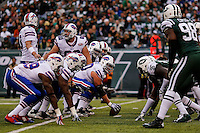 New York Jets against Buffalo Bills during their NFL game at MetLife Stadium in New Jersey. 09.05.2014. VIEWpress