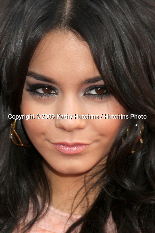 Vanessa Hudgens  arriving at the 17 Again Premiere at Grauman's Chinese Theater in Los Angeles, CA on April 14, 2009.©2009 Kathy Hutchins / Hutchins Photo....                .