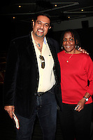 LOS ANGELES - JAN 28: Salim Amin, Marcia Thomas at the 30th Anniversary of 'We Are The World' at The GRAMMY Museum on January 28, 2015 in Los Angeles, California