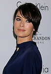 BEVERLY HILLS, CA. - October 06: Actress Lena Heady arrives at ELLE Magazine's 15th Annual Women in Hollywood Event at The Four Seasons Hotel on October 6, 2008 in Beverly Hills, California.