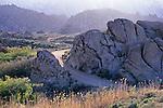 Dirt road through the Alabama Hills, near Lone Pine, Eastern Sierra, California