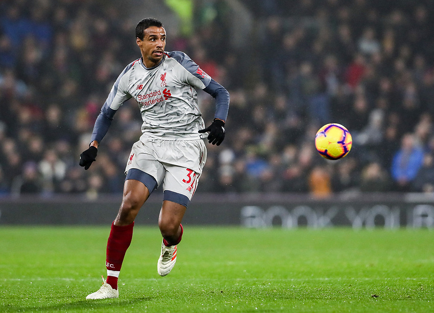 Liverpool's Daniel Agyei <br /> <br /> Photographer Andrew Kearns/CameraSport<br /> <br /> The Premier League - Burnley v Liverpool - Wednesday 5th December 2018 - Turf Moor - Burnley<br /> <br /> World Copyright © 2018 CameraSport. All rights reserved. 43 Linden Ave. Countesthorpe. Leicester. England. LE8 5PG - Tel: +44 (0) 116 277 4147 - admin@camerasport.com - www.camerasport.com