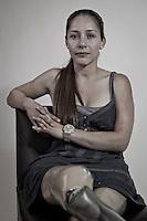 Gabriela Ruiz, empresaria. Candidata a la diputación local por el primer distrito por el Partido del Trabajo (PT).