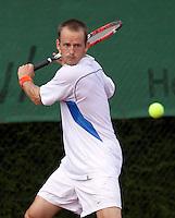 13-8-09, Den Bosch,Nationale Tennis Kampioenschappen, Kwartfinale, Sander Koning