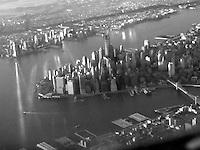 Aerial, Manhattan, New York City, USA