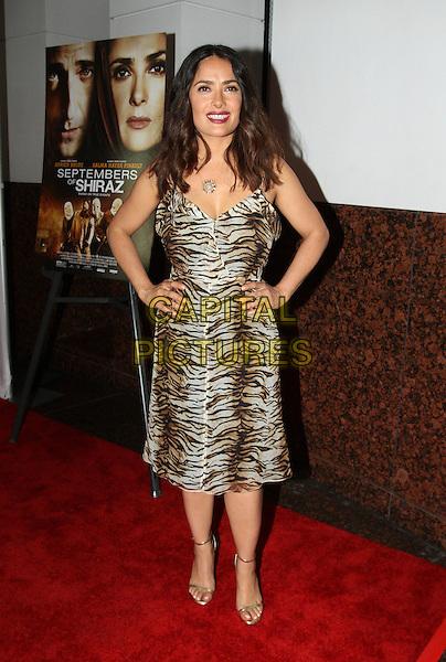 21 June 2016 - Los Angeles, California - Salma Hayek-Pinault. &quot;Septembers of Shiraz&quot; Los Angeles Premiere held at the Museum of Tolerance. <br /> CAP/ADM<br /> &copy;ADM/Capital Pictures