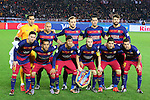 Barcelona team group line-up, <br /> DECEMBER 20, 2015 - Football / Soccer : <br /> FIFA Club World Cup Japan 2015 <br /> Final match between River Plate 0-3 Barcelona  <br /> at Yokohama International Stadium in Kanagawa, Japan.<br /> (Photo by Yohei Osada/AFLO SPORT)