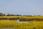 Saltwater marsh on the Interstate waterway, Sunset Beach, Brunswick County, NC