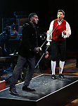"Norm Lewis and Tony Yazbeck performing during the MCP Production of ""The Scarlet Pimpernel"" Concert at the David Geffen Hall on February 18, 2019 in New York City."