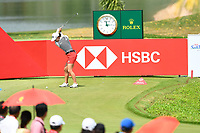 SINGAPORE - MARCH 02: Minjee Lee of Australia on the 17th tee during the third round of the HSBC Women's World Championship 2019 at Sentosa Golf Club - Tanjong Course, Singapore on March 02, 2019.<br /> .<br /> .<br /> .<br /> (Photo by: Naratip Golf Srisupab/SEALs Sports Images)<br /> .<br /> Any image use must include a mandatory credit line adjacent to the content which should read: Naratip Golf Srisupab/SEALs Sports Images