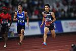 Ryota Yamagata (JPN), <br /> AUGUST 26, 2018 - Athletics : Men's 100m Semi-final at Gelora Bung Karno Main Stadium during the 2018 Jakarta Palembang Asian Games in Jakarta, Indonesia. <br /> (Photo by MATSUO.K/AFLO SPORT)