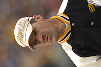 28 November 2004:  Bill Cowher.<br />Pittsburgh Steelers defeated the Washington Redskins 16-7 November 28, 2004 at Heinz Field in Pittsburgh, PA.<br />Mandatory Credit: Randy Litzinger