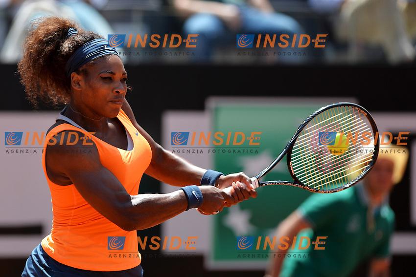 Serena Williams United States .Roma 18/05/2013 Foro Italico .Tennis Internazionali d'Italia 2013 .Semifinali Semi Finals.Foto Andrea Staccioli Insidefoto