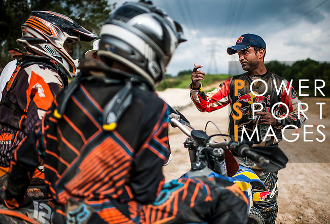"Red Bull KTM team rider Mohammed Balooshi of UAE during the Red Bull ""Under my Wing"" Malaysia 2012, on July 07, 2012. Photo by Victor Fraile / The Power of Sport Images"