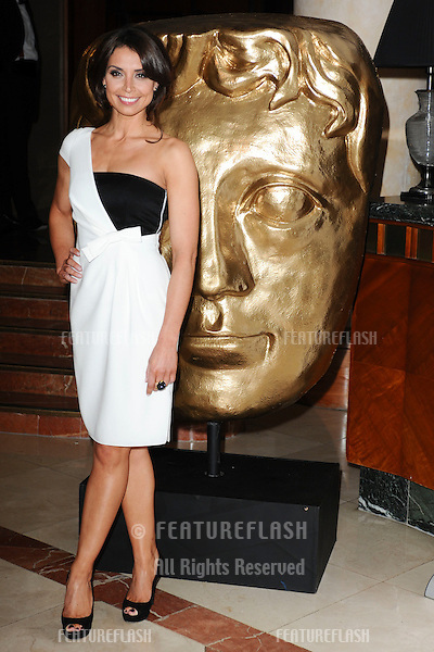 TV Presenter, Christine Bleakley arrives for the BAFTA Craft Awards 2010 at the London Hilton, Park Lane, London. 23/05/2010  Picture by Steve Vas/Featureflash