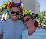Zach Dalquest and Lisa Nicholas at the Northern Nevada Pride Parade and Festival in Reno on Saturday, July 23, 2016.