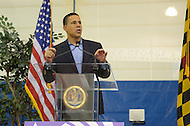 November 5, 2011  (Landover, MD)  Maryland Lt. Governor Anthony G. Brown speaks to an audience at the first Prince George's County Veterans Stand Down and Homeless Resource Day.  The event, held at the Wayne K. Curry Sports and Learning Complex, offered a variety of services to veterans and homeless residents through government and private partnerships.   (Photo by Don Baxter/Media Images International)