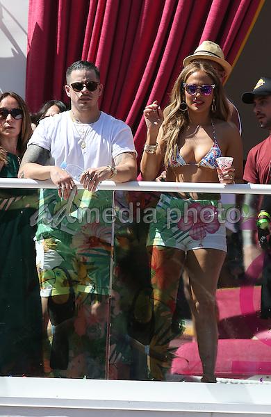 29 May 2016 - Las Vegas, Nevada - Casper Smart, Jennifer Lopez.  Jennifer Lopez Makes Drai's Las Vegas Hosting Debut at CARNIVAL DEL SOL at Drai's Beachclub at the Cromwell.  Photo Credit: MJT/AdMedia