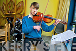 Cian McGarry (16) from Fenit, has been accepted to the Youth Orchestra playing viola.