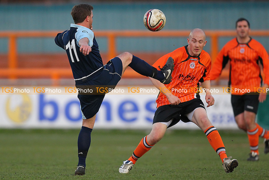 Essex Police vs SC Crittall - Braintree & North Essex Sunday League Premier Division Cup Final at Braintree Town FC - 16/04/13 - MANDATORY CREDIT: Gavin Ellis/TGSPHOTO - Self billing applies where appropriate - 0845 094 6026 - contact@tgsphoto.co.uk - NO UNPAID USE.
