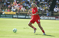 Allie Long. FC Gold Pride defeated Washington Freedom 3-2 at Buck Shaw Stadium in Santa Clara, California on August 1, 2009.