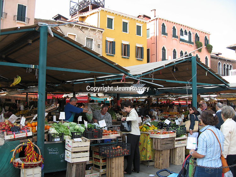 Venice's morning market