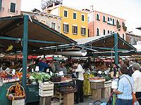 Venice's morning market