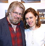 Dave Malloy and Eliza Bent attends the 2018 New York Theatre Workshop Gala at the The Altman Building on April 16, 2018 in New York City