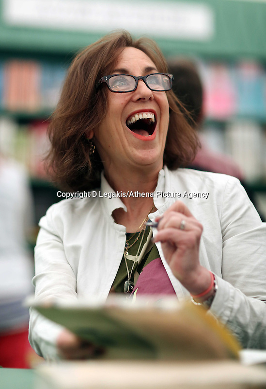 Wednesday 28 May 2014, Hay on Wye, UK<br /> Pictured: Kirsty Wark<br /> Re: The Hay Festival, Hay on Wye, Powys, Wales UK.