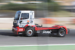 Hungarian driver Norbert Kiss belonging German team Tankpool 24 Racing during the third race R3 of the XXX Spain GP Camion of the FIA European Truck Racing Championship 2016 in Madrid. October 02, 2016. (ALTERPHOTOS/Rodrigo Jimenez)