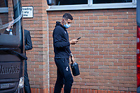 27th June 2020; Carrow Road, Norwich, England; FA Cup 6th round tie, Norwich City versus Manchester united; Teams arriving at the stadium pre-match;  Ben Godfrey arriving at Carrow Road