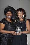 Alexandreena & daughter Delaina Dixon (Host on Gossip Table, Diva Gals Daily) - Color of Beauty Awards on February 4, 2014 at Holy Apostles, New York City, New York. (Photo by Sue Coflin/Max Photos)