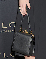 WWW.BLUESTAR-IMAGES.COM  Actress Dianna Agron (handbag, ring detail) at the BVLGARI 'Decades Of Glamour' Oscar Party Hosted By Naomi Watts at Soho House on February 25, 2014 in West Hollywood, California.<br /> Photo: BlueStar Images/OIC jbm1005  +44 (0)208 445 8588