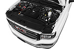 Car Stock 2017 GMC Sierra-1500 Regular-Cab 2 Door Pickup Engine  high angle detail view