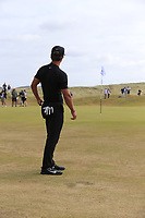 Thorbjorn Olesen (DEN) putts on the 15th green during Friday's Round 2 of the 2018 Dubai Duty Free Irish Open, held at Ballyliffin Golf Club, Ireland. 6th July 2018.<br /> Picture: Eoin Clarke | Golffile<br /> <br /> <br /> All photos usage must carry mandatory copyright credit (&copy; Golffile | Eoin Clarke)