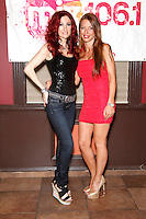 Drita D'Avanzo pictured with Jade Starling from Pretty Poison at The Coastline in Cherry Hill, New Jersey on June 22, 2012  &copy; Star Shooter / MediaPunchInc no germany no austria NORTEPHOTO.COM<br />