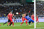 Shinji Okazaki (JPN), <br /> MARCH 29, 2016 - Football / Soccer : <br /> FIFA World Cup Russia 2018 Asian Qualifier Second Round Group E match between<br /> Japan - Syria <br /> at Saitama Stadium 2002 in Saitama, Japan.<br /> (Photo by Yohei Osada/AFLO SPORT)