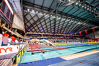 Picture by Allan McKenzie/SWpix.com - 13/12/2017 - Swimming - Swim England Winter Championships - Ponds Forge International Sport Centre - Sheffield, England - The mens open 200m breaststroke dives in.