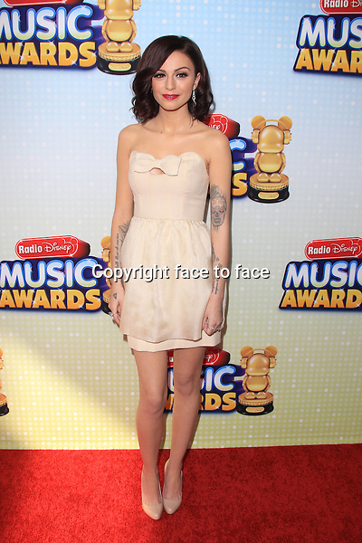 LOS ANGELES, CA - APRIL 27: Cher Lloyd at the 2013 Radio Disney Music Awards at Nokia Theatre L.A. Live on April 27, 2013 in Los Angeles, California..Credit: MediaPunch/face to face..- Germany, Austria, Switzerland, Eastern Europe, Australia, UK, USA, Taiwan, Singapore, China, Malaysia, Thailand, Sweden, Estonia, Latvia and Lithuania rights only -
