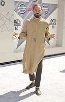 LOS ANGELES, CA - JUNE 26: Bilal at the 2016 BET Awards at the Microsoft Theater on June 26, 2016 in Los Angeles, California. Credit: Koi Sojer/MediaPunch