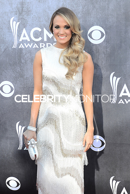 LAS VEGAS, NV, USA - APRIL 06: Carrie Underwood at the 49th Annual Academy Of Country Music Awards held at the MGM Grand Garden Arena on April 6, 2014 in Las Vegas, Nevada, United States. (Photo by Celebrity Monitor)