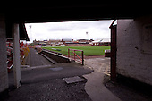 23/06/2000 Blackpool FC Bloomfield Road Ground.View underneath the south west stand.......© Phill Heywood.