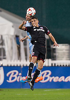 Washington, DC - October 3, 2014: D.C. United tied Sporting KC 0-0 during a Major League Soccer (MLS) match at RFK Stadium.