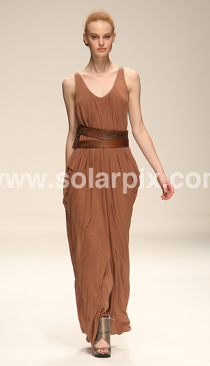 **ALL ROUND PICTURES FROM SOLARPIX.COM**                                             **WORLDWIDE SYNDICATION RIGHTS**                                                                                  Caption: The Amanda Wakeley catwalk runway fashion show as part of London Fashion Week 2010. London, UK. 21 September 2010                                                                             This pic: Amanda Wakeley catwalk show                                                                                              JOB REF: 12170 MLW       DATE: 21_09_2010                                                           **MUST CREDIT SOLARPIX.COM OR DOUBLE FEE WILL BE CHARGED**                                                                      **MUST AGREE FEE BEFORE ONLINE USAGE**                               **CALL US ON: +34 952 811 768 or LOW RATE FROM UK 0844 617 7637**