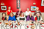 Irish Wheelchair Charity Shop Xmas Party: Members of the staff of the Listowel branch of the Irish Wheelchair Charity Shop enjoying their Christmas part at Eabha Joan's Restaurant on Saturday night last. Front : Eileen McCarthy, Joan Byrne, Anne Egan, Angela Norgraove & Mary Stack. Back: Kathleen O'Connor, Evelyn Greaney, Hilda O'Donnell & Florence Guyatt.