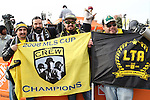 06 December 2015: Univision broadcaster Marcello Balboa (second from left) poses with some fans. The Columbus Crew SC hosted the Portland Timbers FC at Mapfre Stadium in Columbus, Ohio in MLS Cup 2015, Major League Soccer's championship game. Portland won the game 2-1.