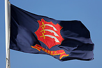 The Essex flag flies in a stiff breeze during Essex CCC vs Nottinghamshire CCC, Specsavers County Championship Division 1 Cricket at The Cloudfm County Ground on 14th May 2019