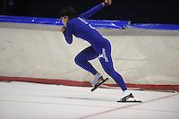 SCHAATSEN: HEERENVEEN: 19-09-2014, IJsstadion Thialf, Topsporttraining, Nao Kodaira (JPN), ©foto Martin de Jong